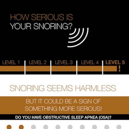 Preview of Dr. Walker's sleep apnea infographic