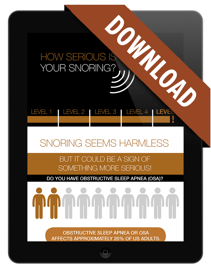Sleep apnea infographic download preview
